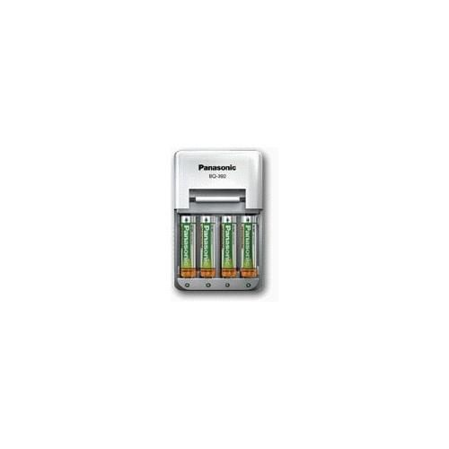 PANASONIC BQ-392 nabíječka + 4ks AA 2050mAh