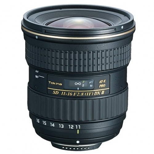 TOKINA 11-16 mm f/2,8 AT-X PRO DX II pro Nikon + CPL filtr HOYA HD ZDARMA!